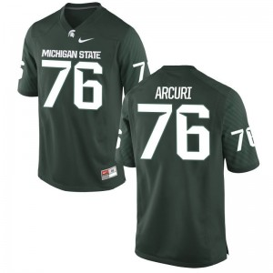 AJ Arcuri Michigan State Spartans Jerseys Mens XXL Limited For Men - Green