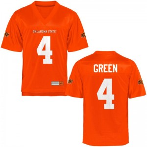 OSU Cowboys Player A.J. Green Limited Jersey Orange Mens