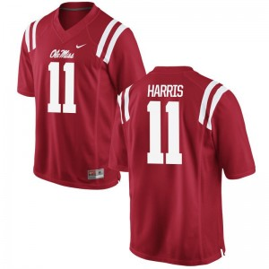 Ole Miss Rebels For Men Limited Red A.J. Harris Jersey XXXL