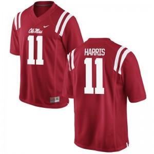 Ole Miss Rebels For Men Limited Red A.J. Harris Jersey XXXL