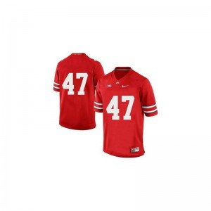 Ohio State A.J. Hawk Jerseys XX Large Limited Men Jerseys XX Large - Red