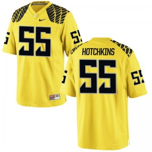 A.J. Hotchkins Oregon Jerseys Limited For Men Gold