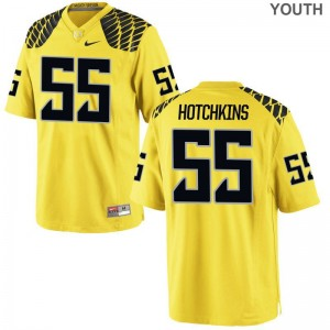 A.J. Hotchkins Youth Jersey Medium Ducks Limited - Gold