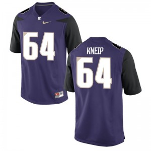 Men A.J. Kneip Jerseys Men XXXL University of Washington Limited - Purple