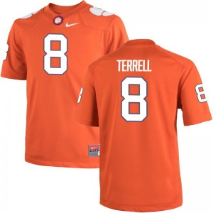 A.J. Terrell Men Jersey Men XXXL Orange Limited Clemson Tigers