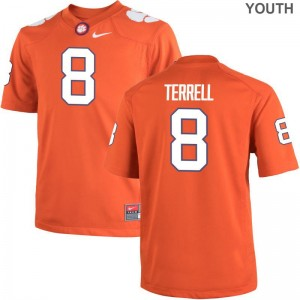 Clemson Tigers A.J. Terrell Jerseys Large Youth Limited - Orange