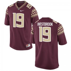 Limited Florida State Seminoles A.J. Westbrook Men Garnet Jersey XXL