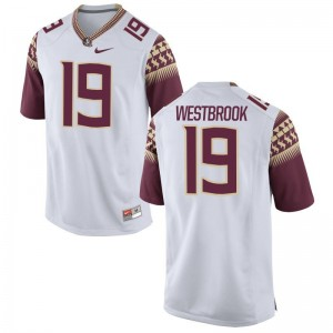 FSU Seminoles A.J. Westbrook Jersey Mens Medium Limited Men White