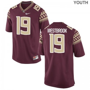 A.J. Westbrook FSU Seminoles Kids Jerseys Garnet Limited Jerseys