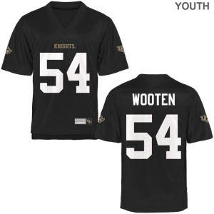 Black A.J. Wooten Jersey Small Knights Youth(Kids) Limited