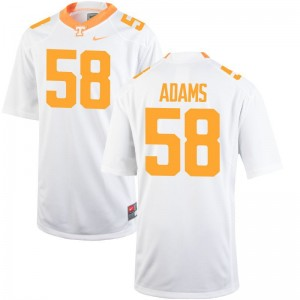 Aaron Adams For Men Jerseys Men Large White Tennessee Limited