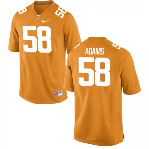 Tennessee Volunteers Jersey X Large Aaron Adams Limited Youth(Kids) - Orange