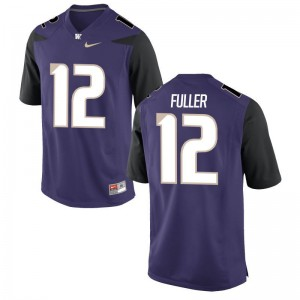 Aaron Fuller Mens Jersey Washington Huskies Purple Limited