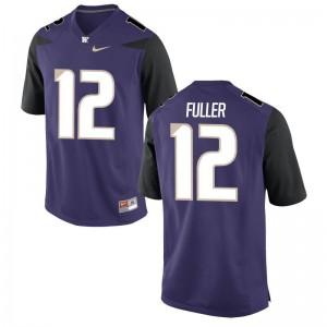 Aaron Fuller Mens Jersey Washington Huskies Purple Limited