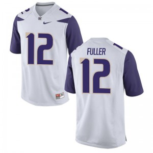 Aaron Fuller Washington Jerseys Mens Limited White