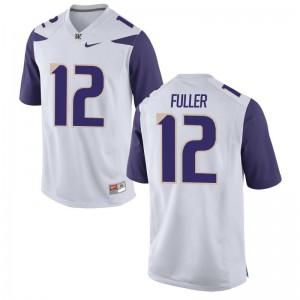 Aaron Fuller Washington Jerseys Mens Limited White