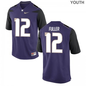 Aaron Fuller Washington Jersey S-XL Purple Youth(Kids) Limited