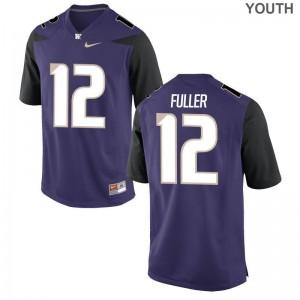 Aaron Fuller Washington Jersey S-XL Purple Youth(Kids) Limited