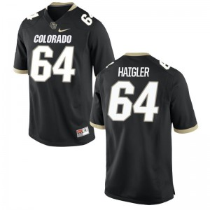 Aaron Haigler Men Black Jersey Colorado Buffaloes Limited