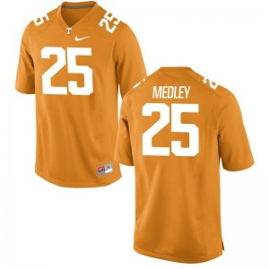 Tennessee Volunteers Aaron Medley Jersey X Large For Men Limited Orange