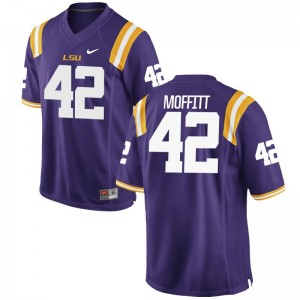 LSU Aaron Moffitt For Men Limited Stitch Jersey Purple