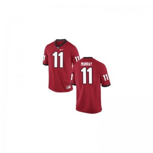 Aaron Murray Georgia Jersey For Men Limited Red