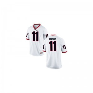 University of Georgia Aaron Murray Limited Jerseys White Kids