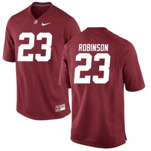 Youth(Kids) Aaron Robinson Jerseys Red Limited University of Alabama Jerseys