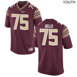 FSU Seminoles Abdul Bello Limited Kids Jerseys Small - Garnet