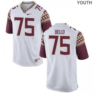 FSU Seminoles Abdul Bello Jerseys S-XL Youth(Kids) Limited White