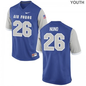 USAFA Jerseys S-XL Abraham Nuno Limited Youth - Royal