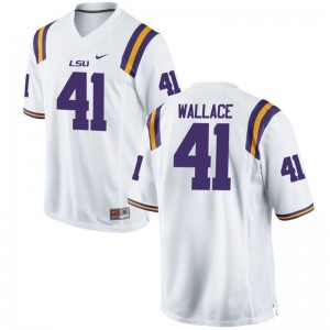 Abraham Wallace Jerseys Tigers White Limited Youth(Kids) Jerseys
