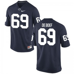 Nittany Lions Adam De Boef Jersey S-XL Youth Limited - Navy