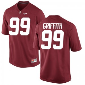 Bama Adam Griffith Limited Jersey Red Mens