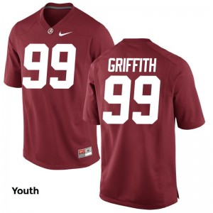 Adam Griffith Jerseys Bama Red Limited Kids Jerseys