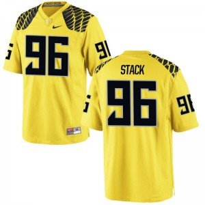 Adam Stack Limited Jerseys For Men Ducks Gold Jerseys