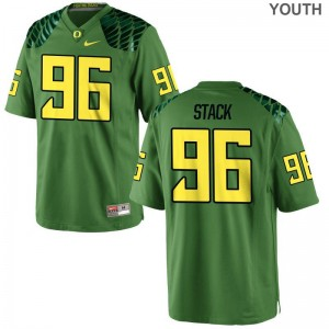 Adam Stack Jerseys Youth Small Youth Ducks Limited Apple Green
