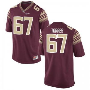 Seminoles Jersey XXL of Adam Torres Mens Limited - Garnet