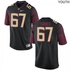 Adam Torres Seminoles Jerseys For Kids Limited Black