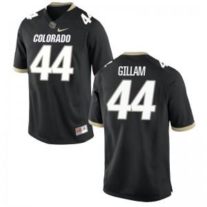 UC Colorado Addison Gillam Jerseys Men Medium Limited Men Jerseys Men Medium - Black