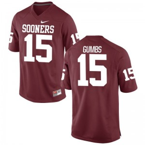 Addison Gumbs Men Jersey XX Large Oklahoma Sooners Limited - Crimson