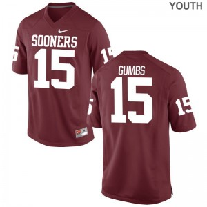 Addison Gumbs Oklahoma Sooners Jerseys Youth X Large Crimson Kids Limited