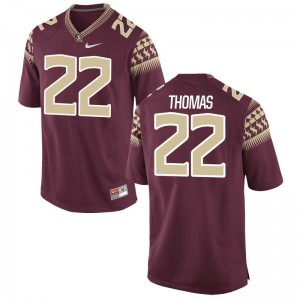 Florida State Seminoles Garnet For Men Limited Adonis Thomas Jerseys XX Large