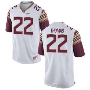 Florida State Seminoles Adonis Thomas Jersey Mens XXXL White Limited Mens