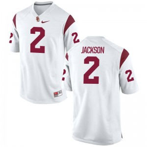 USC Limited Adoree Jackson Men Jerseys 2XL - White