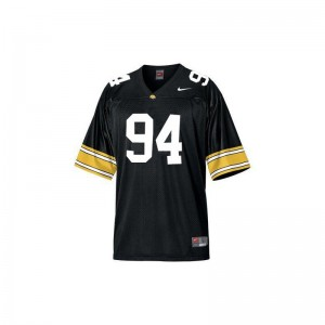 Iowa Adrian Clayborn Jersey Youth Large Limited Kids - Black