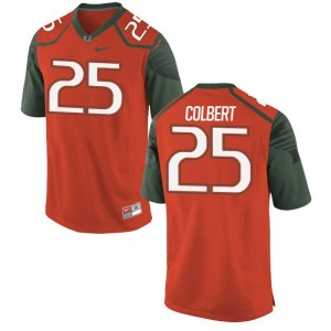 Adrian Colbert Miami Jerseys Limited Mens Orange