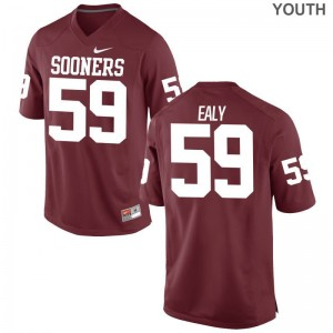 OU Sooners For Kids Limited Adrian Ealy Jersey Small - Crimson