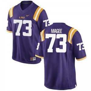 Adrian Magee Jersey Mens Medium For Men Tigers Limited Purple
