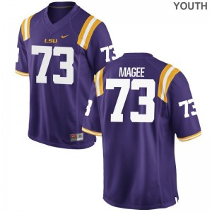 Adrian Magee Limited Jersey Kids Stitch Tigers Purple Jersey